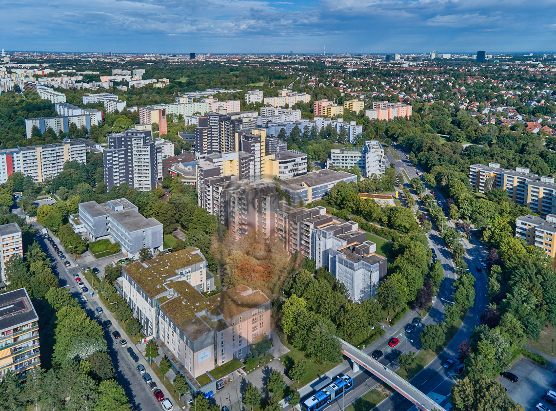 Fassadensanierung am Karl-Marx-Ring 52-6