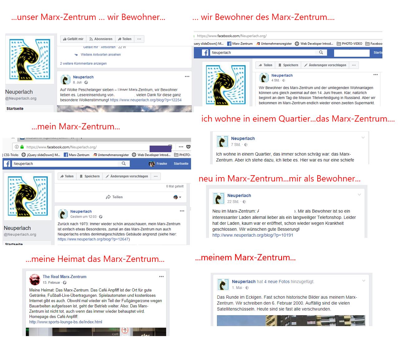 01.01.2021 - Kranke Wahrnehmung von 'Mister Marx-Zentrum'